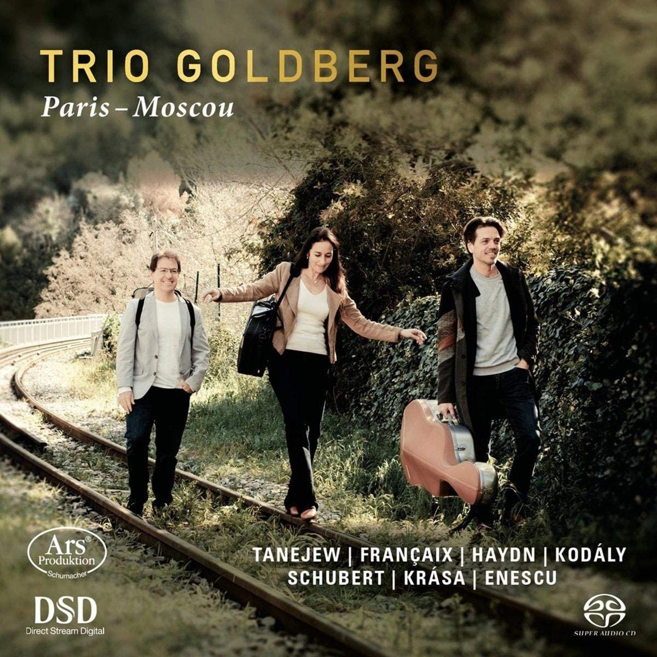 Trio Goldberg: Paris-Moscou - 1