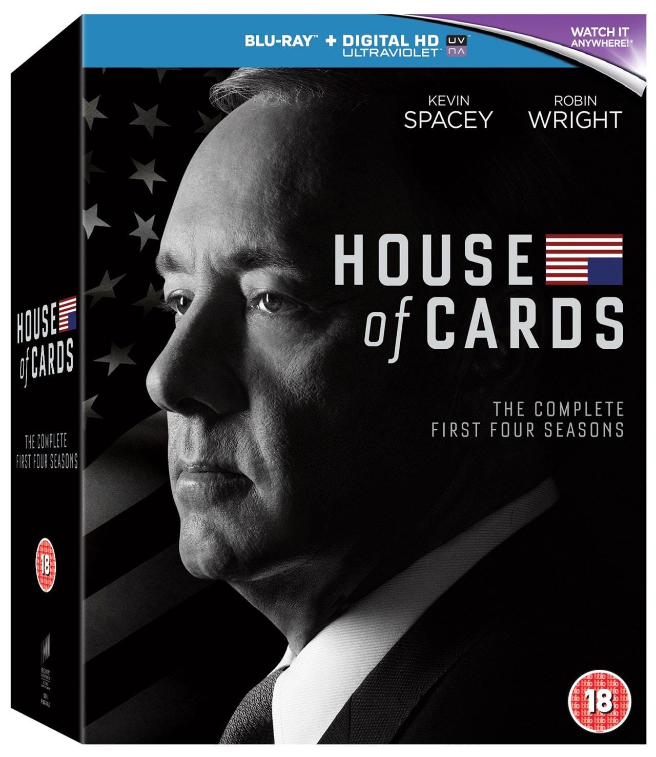 House Of Cards Seasons 1 4 Blu Ray Box Set Free Shipping Over 20 Hmv Store