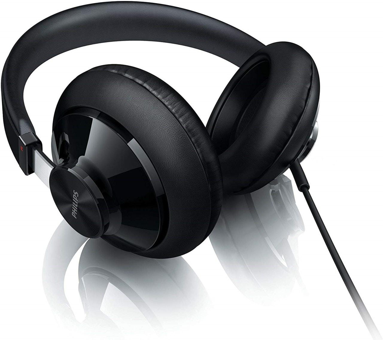 Philips SHP6000 Black Headphones - 2