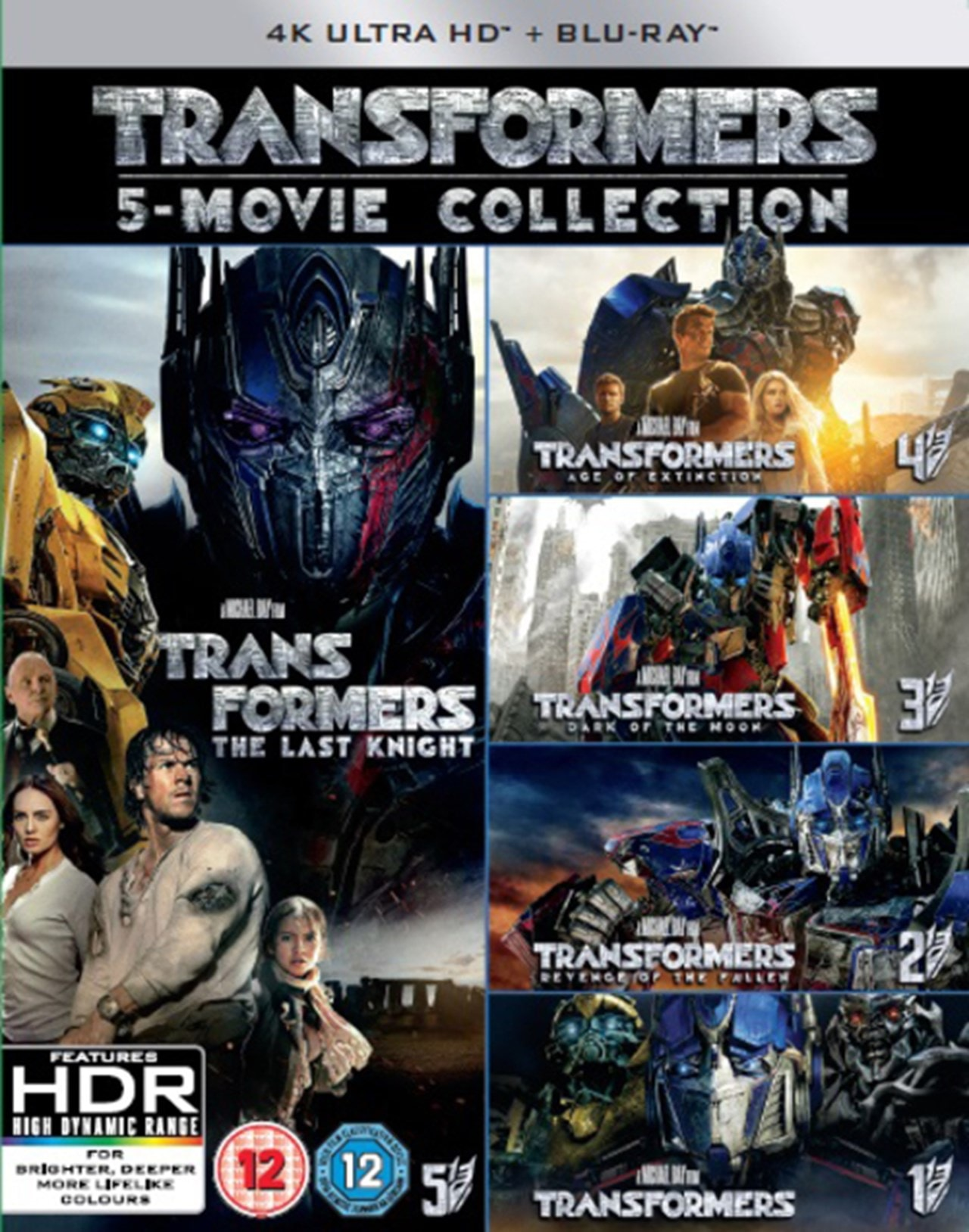 Transformers: 5-movie Collection - 1