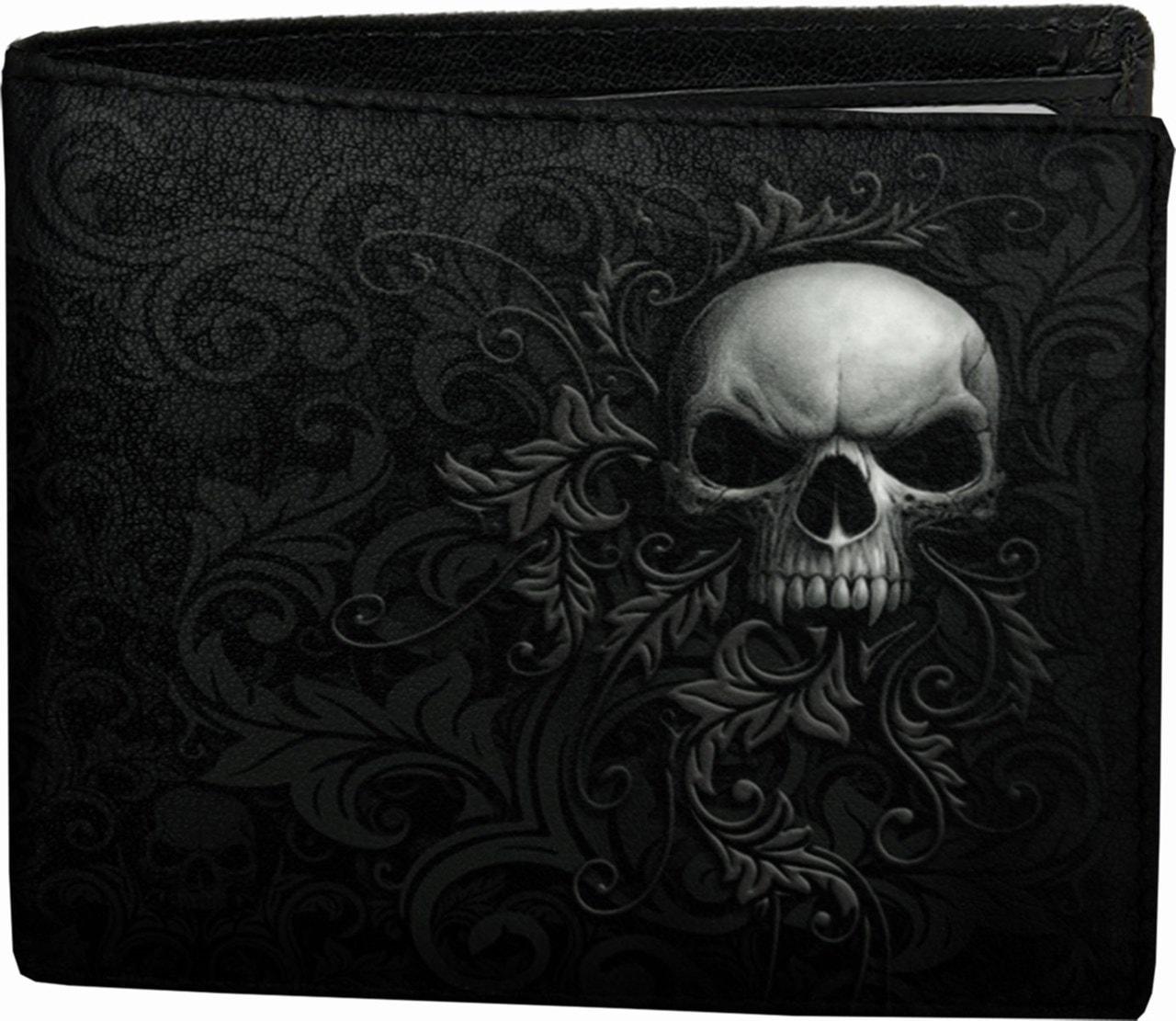 Skull Scroll Wallet - 1