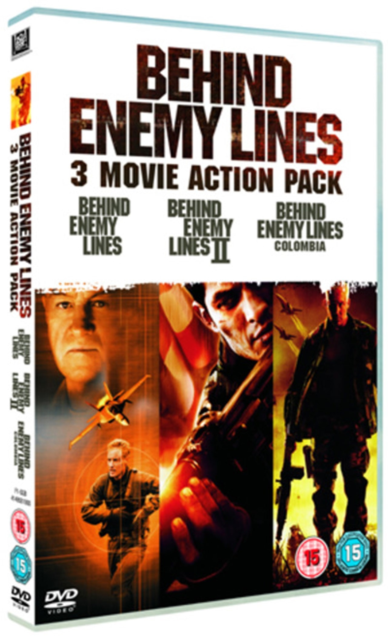 Behind Enemy Lines 1-3 - 1