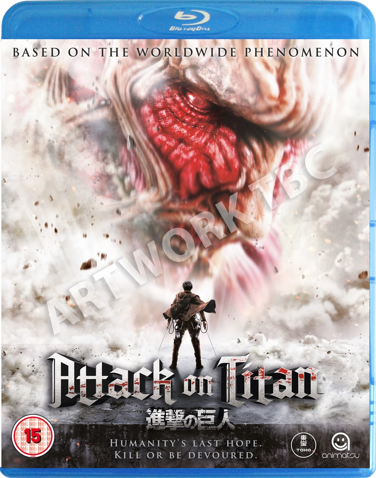 Attack On Titan: Part 1 | Blu-ray | Free shipping over £20 ...