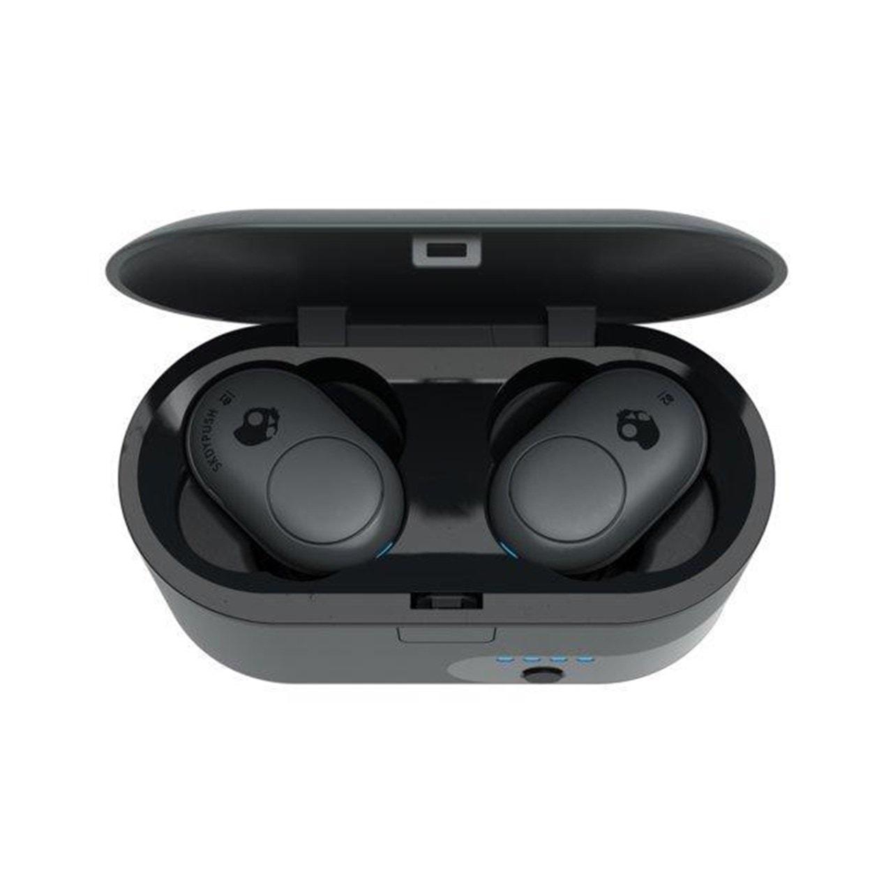 Skullcandy Push Grey True Wireless Bluetooth Earphones - 2