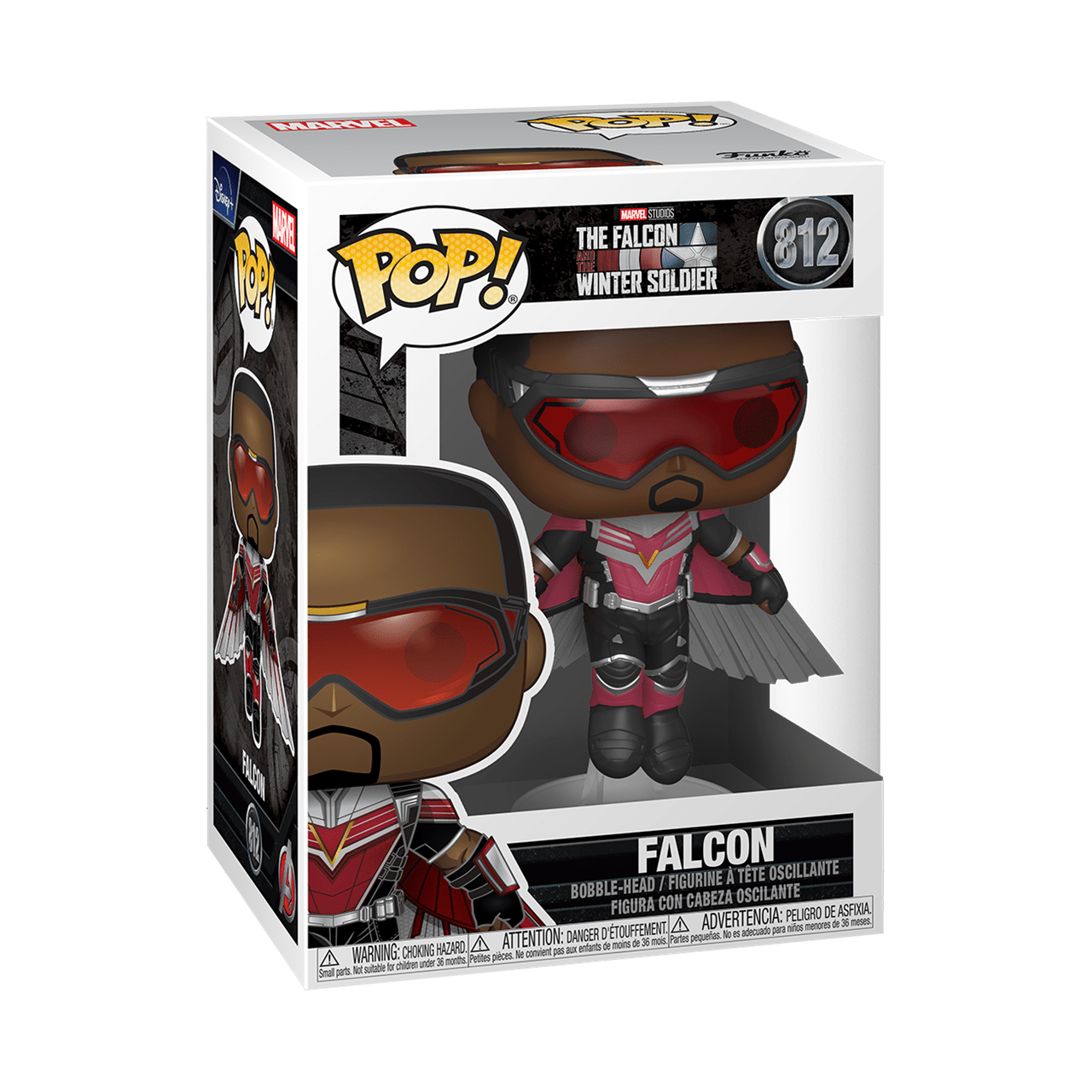 Flying Falcon (812) The Falcon & Winter Soldier: Marvel Pop Vinyl - 2