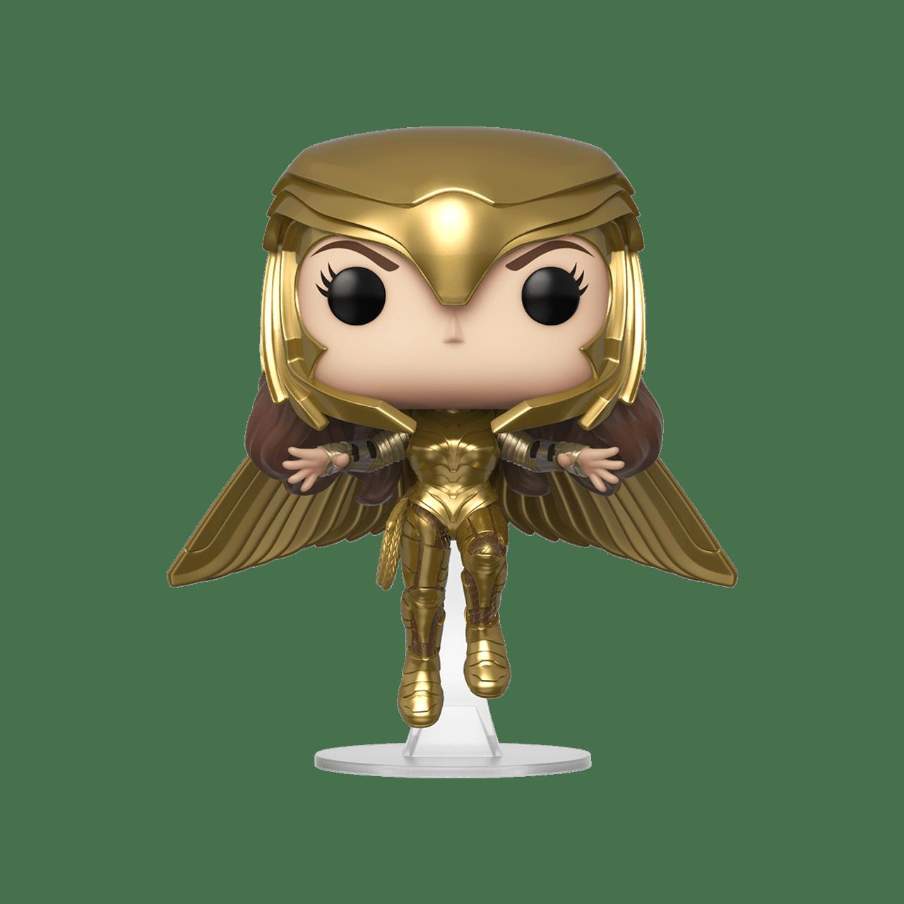 Wonder Woman 1984 Golden Armour Flying (324) DC Pop Vinyl - 1