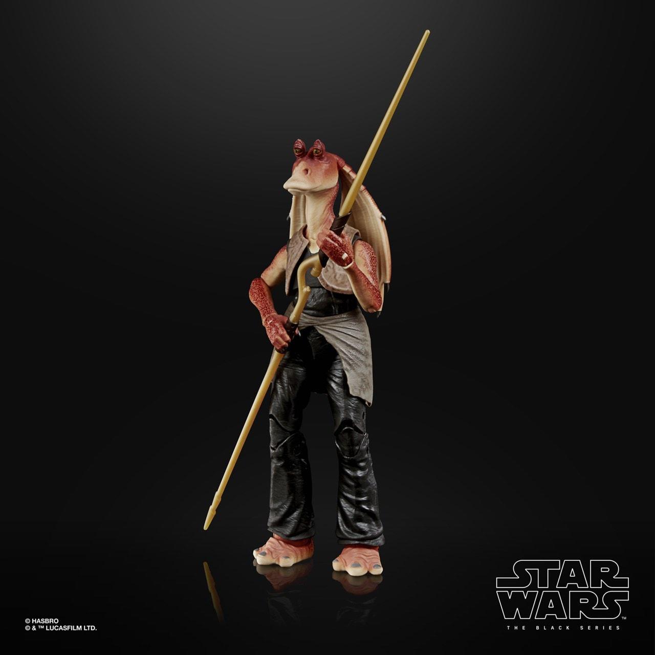 Jar Jar Binks: Deluxe: The Black Series: Star Wars Action Figure - 4