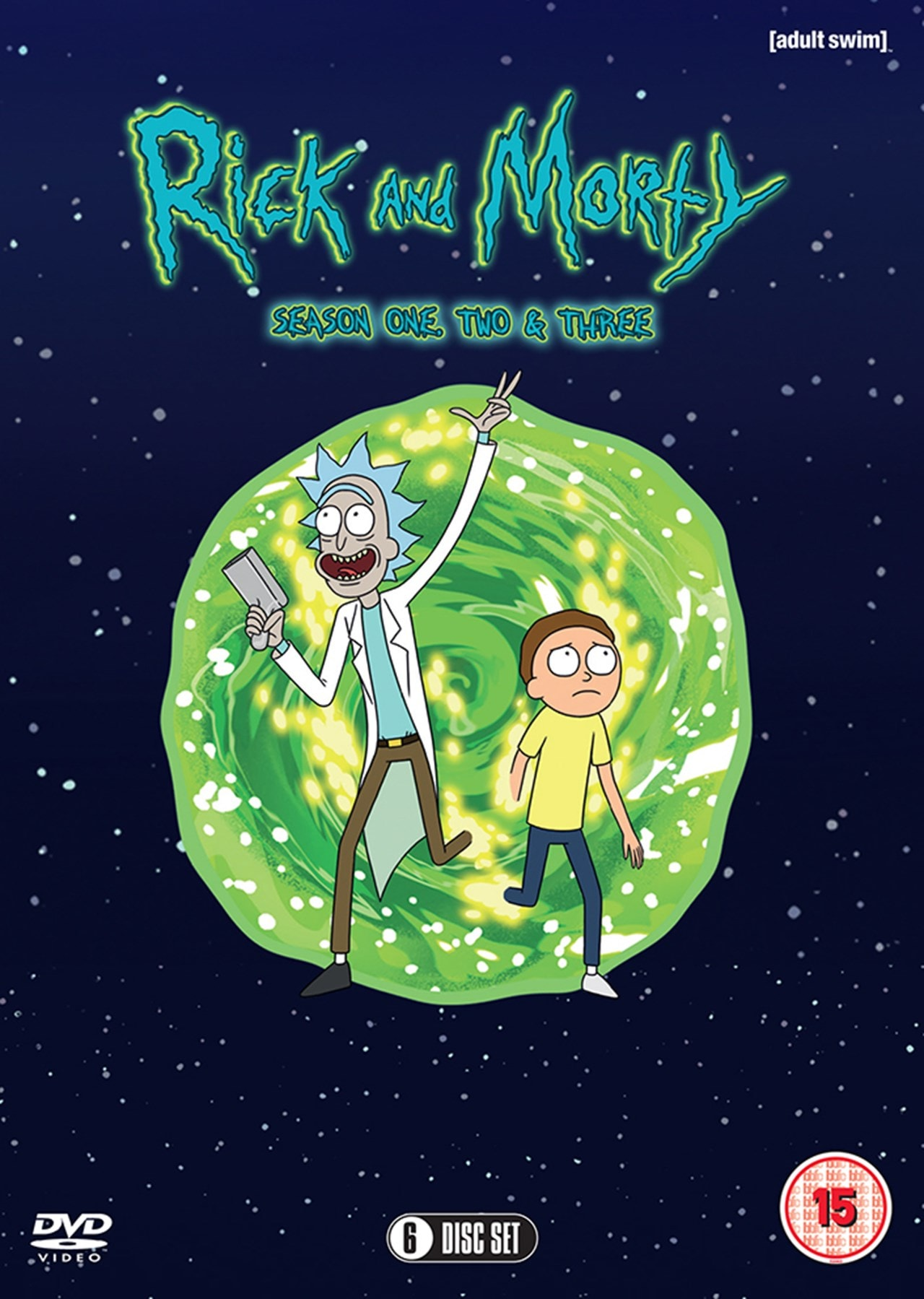 Rick and Morty: Season One, Two & Three - 1