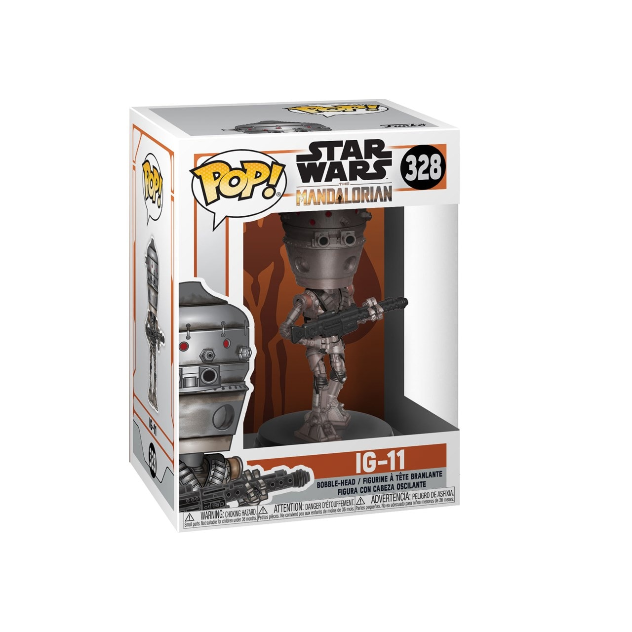 Pop Vinyl: Ig-11 (328): Mandalorian: Star Wars - 2