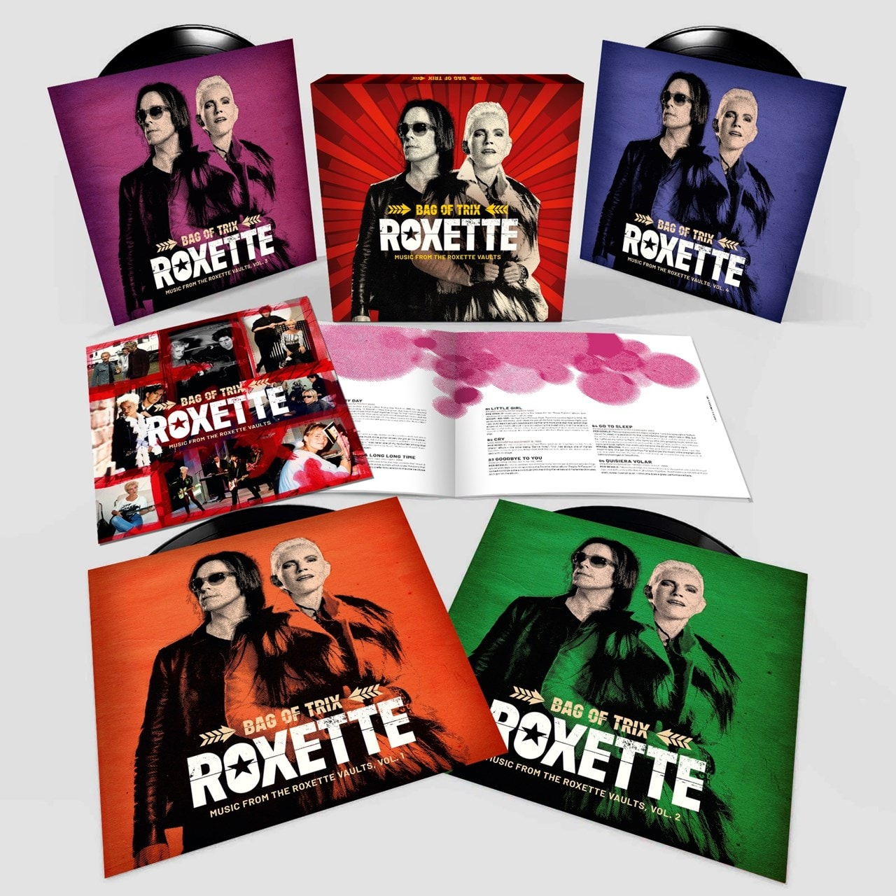 Bag of Trix: Music from the Roxette Vaults - 2