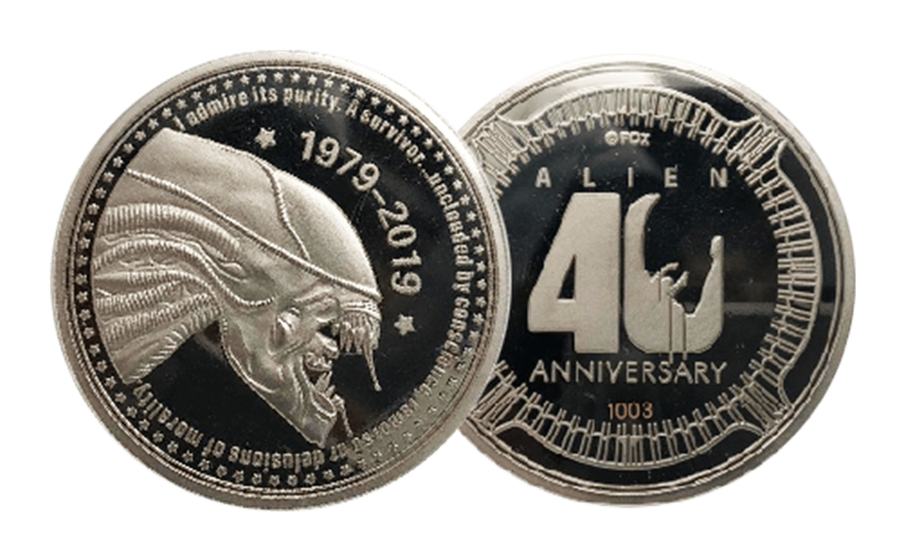 Alien 40th Anniversary Limited Edition Coin - 2