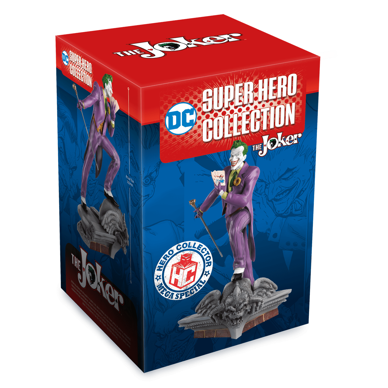 Joker on Roof: DC Mega Figurine: Hero Collector - 5