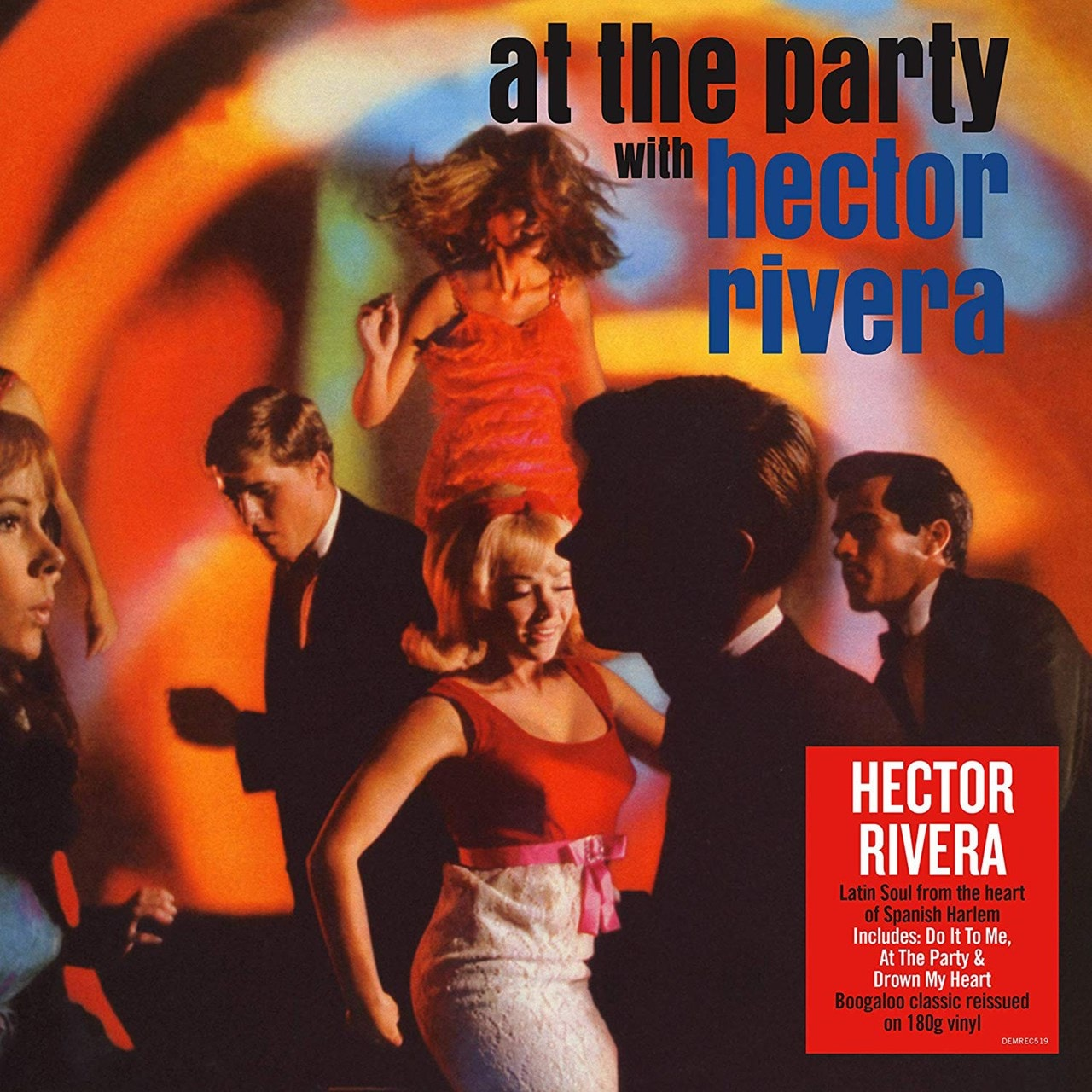 At the Party With Hector Rivera - 1
