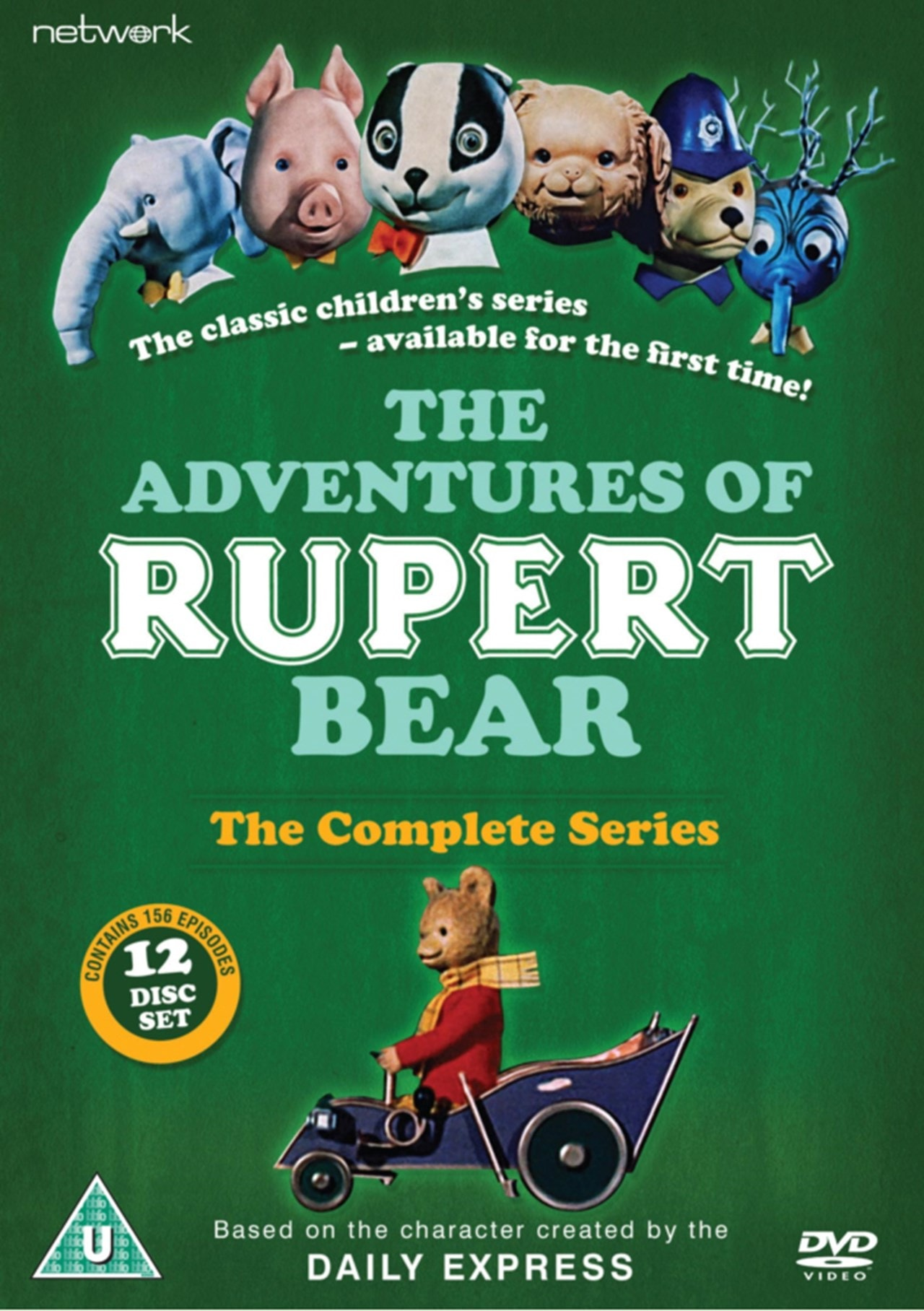 The Adventures of Rupert Bear: The Complete Series - 1