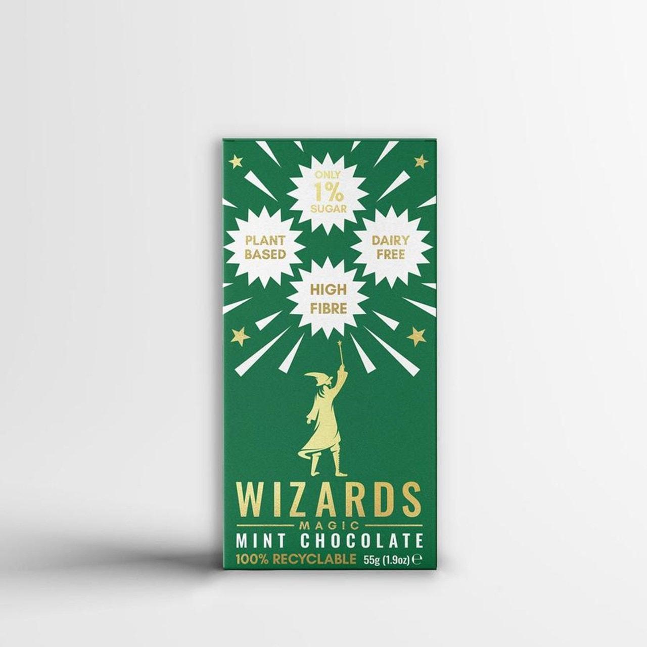 Wizards Magic Chocolate: 1% Sugar Original Gift Pack: Mint & Orange (Pack of 4) - 3