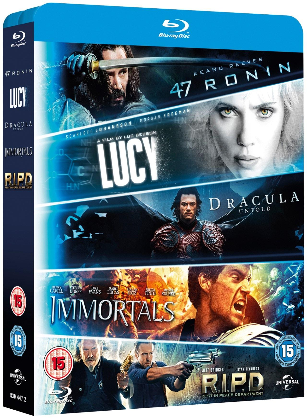 47 Ronin/R.I.P.D./Immortals/Dracula Untold/Lucy - 2