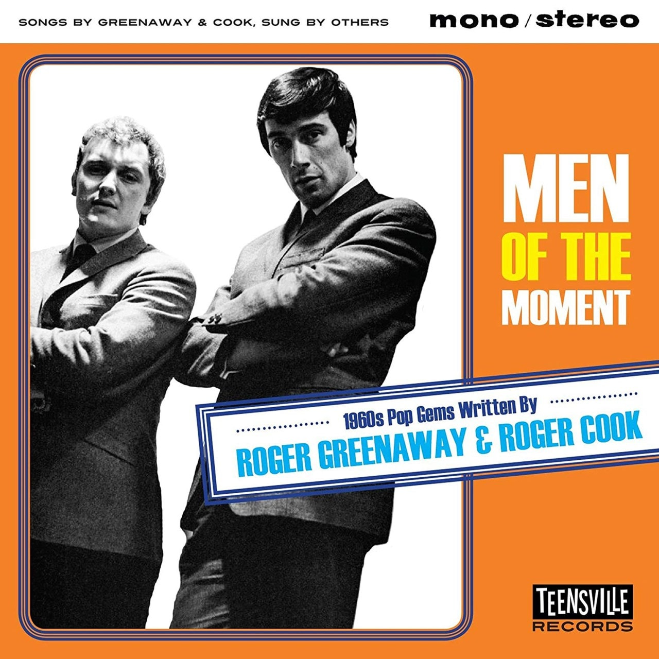 Men of the Moment: 1960s Pop Gems Written By Roger Greenaway & Roger Cook - 1