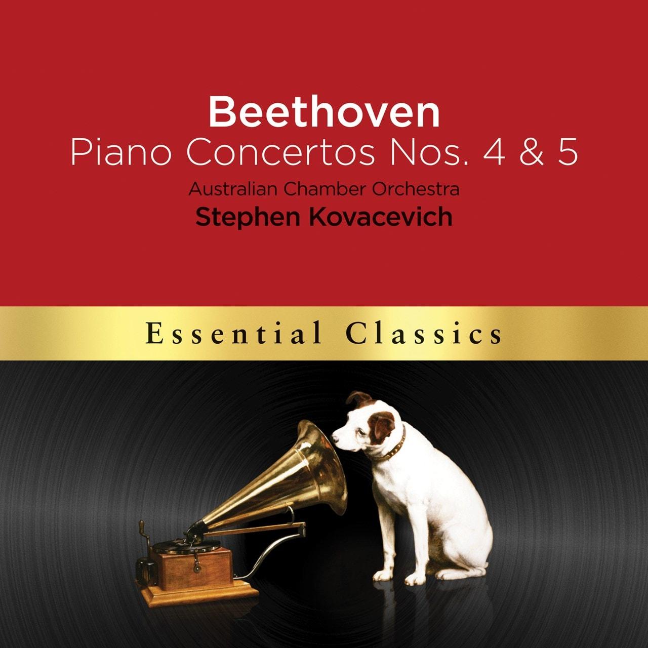 Beethoven: Piano Concertos Nos. 4 & 5 'Emperor' - 1