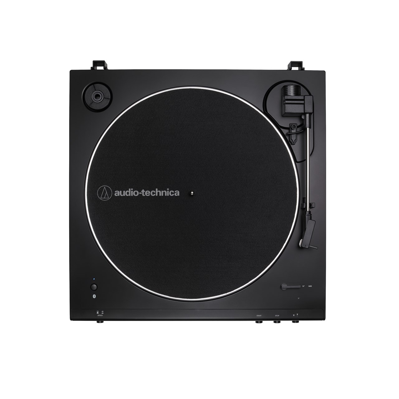 Audio Technica At-LP60XBT Black Bluetooth Turntable - 2