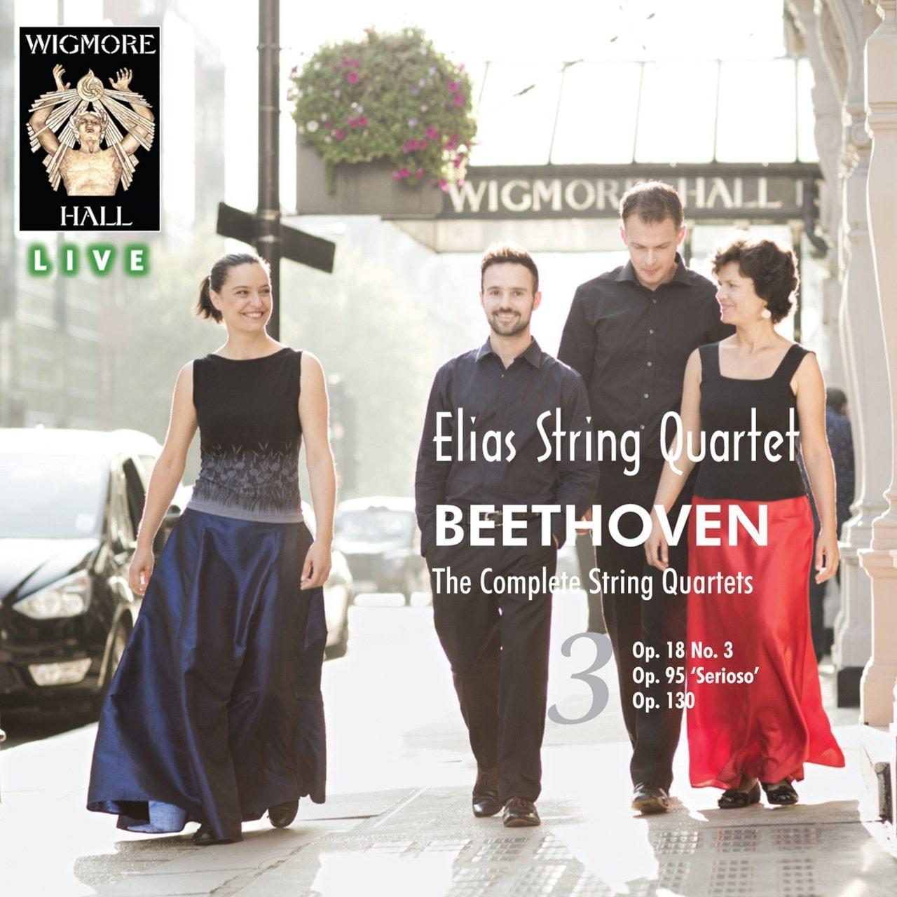 Elias String Quartet: Beethoven - The Complete String Quartets - Volume 3 - 1