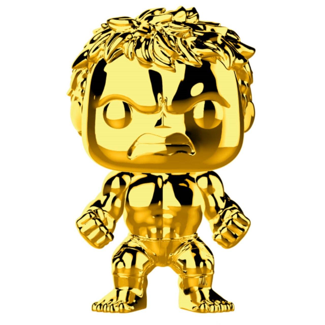 Hulk (379) Gold Chrome Marvel Pop Vinyl - 1