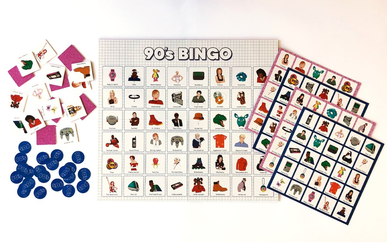 90'S Bingo: Throwback To The Raddest Decade Ever Board Game - 3