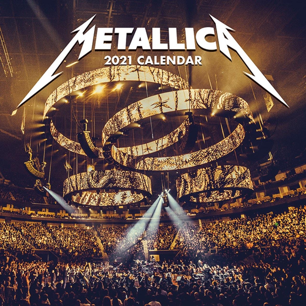 Metallica Suomeen 2021