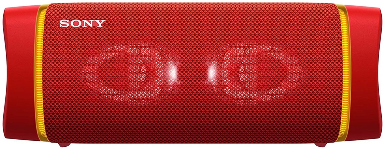 Sony SRSXB33 Red Bluetooth Speaker - 1