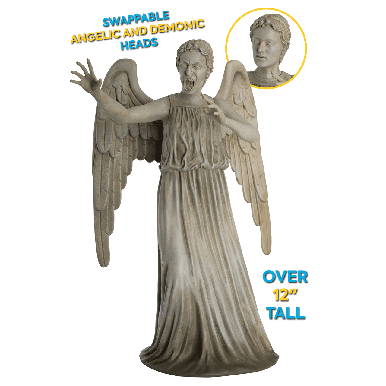 Weeping Angel: Doctor Who Mega Figurine (online only) Hero Collector - 2
