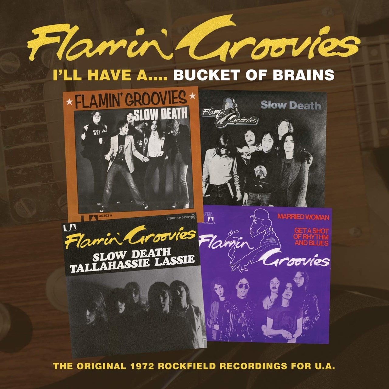 I'll Have A... Bucket of Brains: The Original 1972 Rockfield Recordings for U.A. - 1