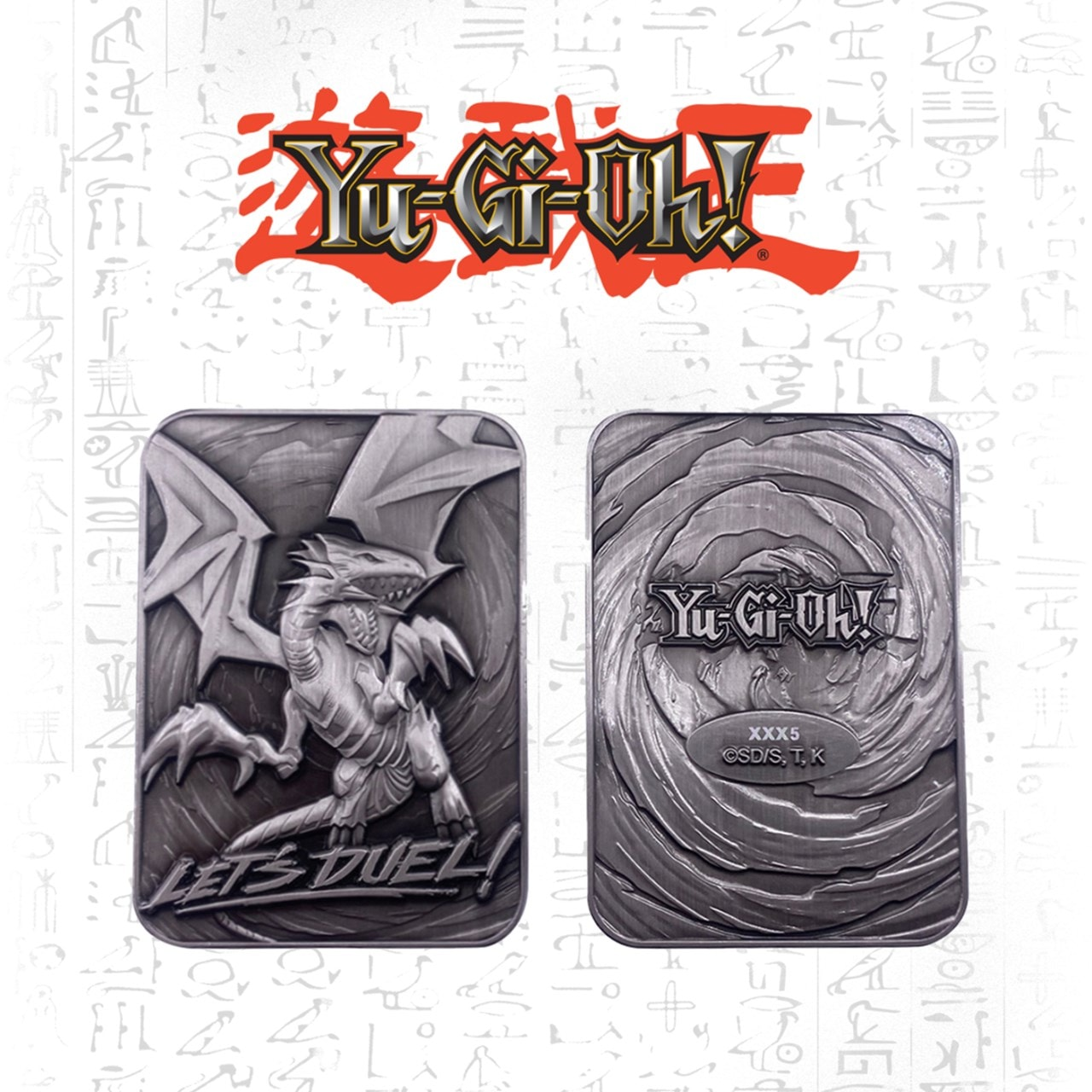 Blue Eyes White Dragon: Yu-Gi-Oh! Metal Collectible - 1