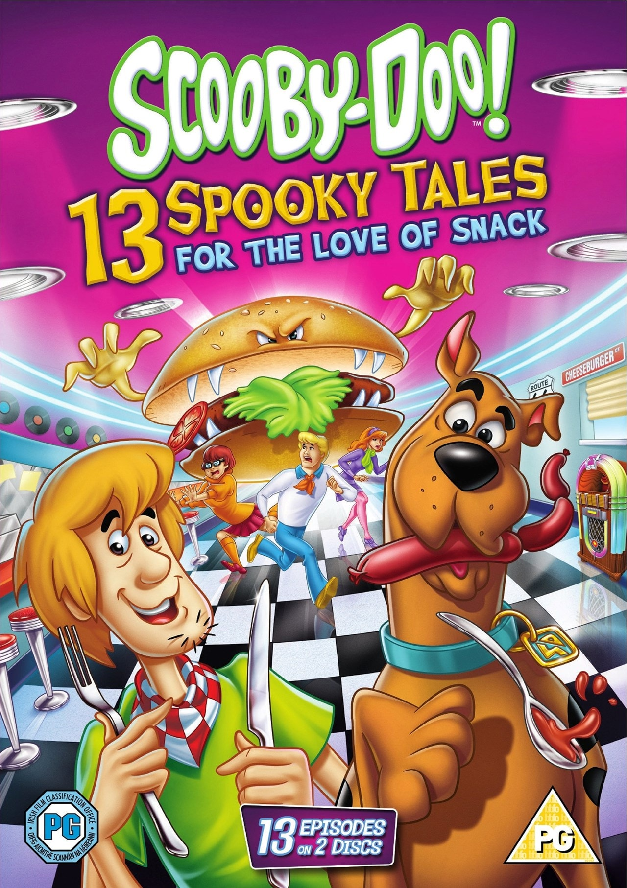 Scooby-Doo: 13 Spooky Tales - For the Love of Snack - 1