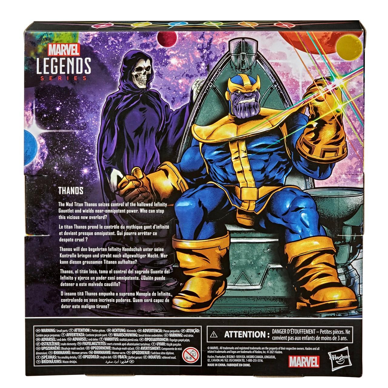 Thanos: Infinity Gauntlet: Legends Series Marvel Action Figure - 3