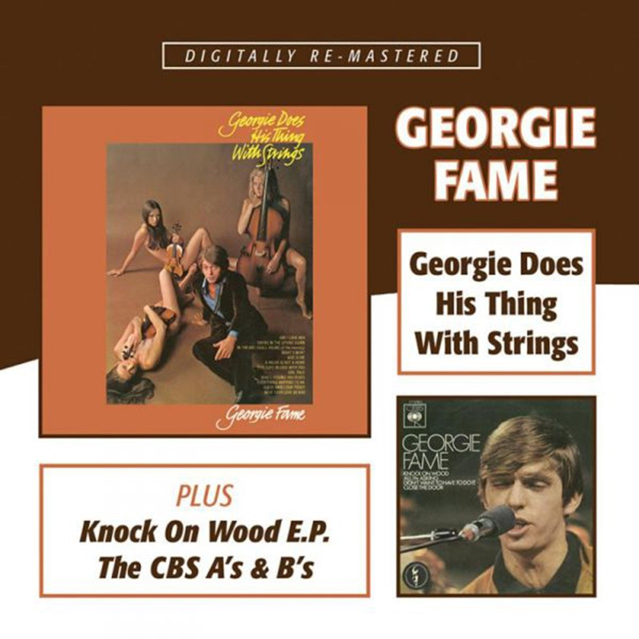 Georgie Does His Thing With Strings/Knock On Wood/The CBS As & Bs - 1