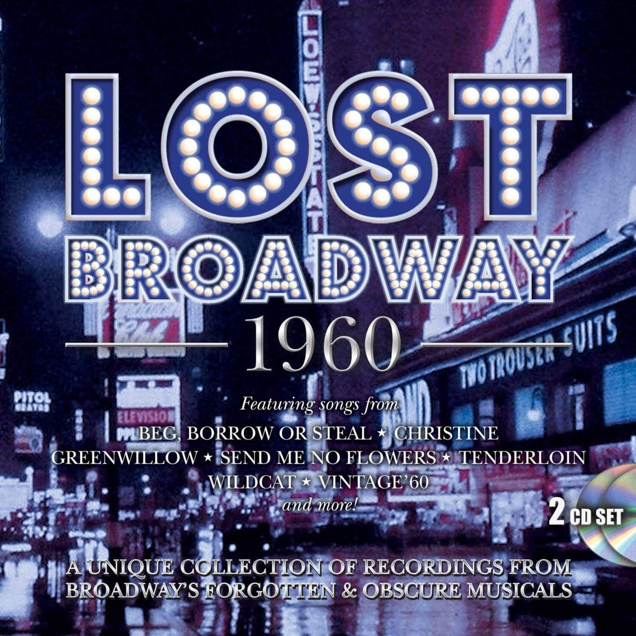 Lost Broadway 1960: Broadway's Forgotten & Obscure Musicals - 1