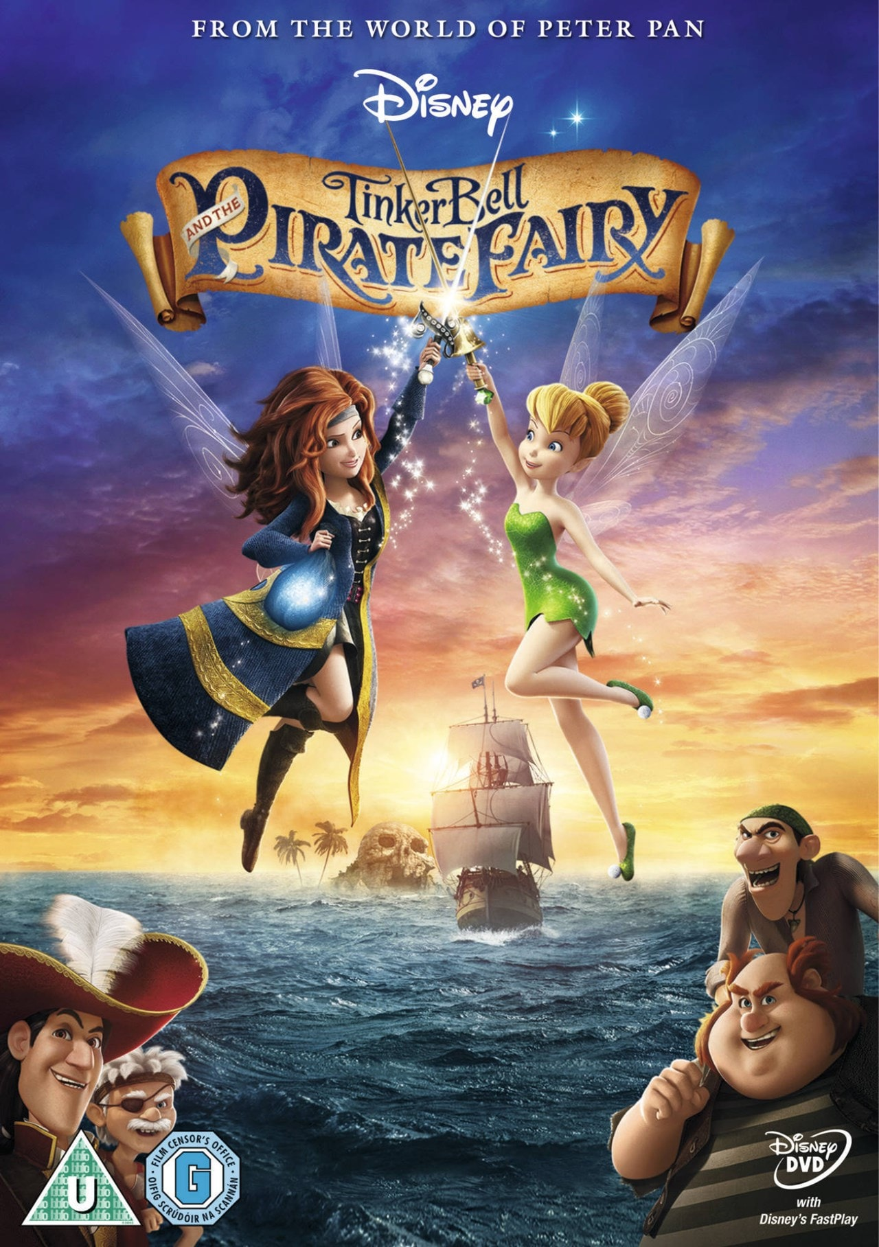 Tinker Bell and the Pirate Fairy - 1