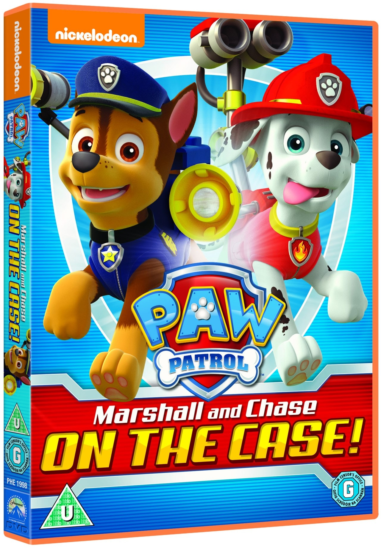 Paw Patrol: Marshall and Chase On the Case! - 2