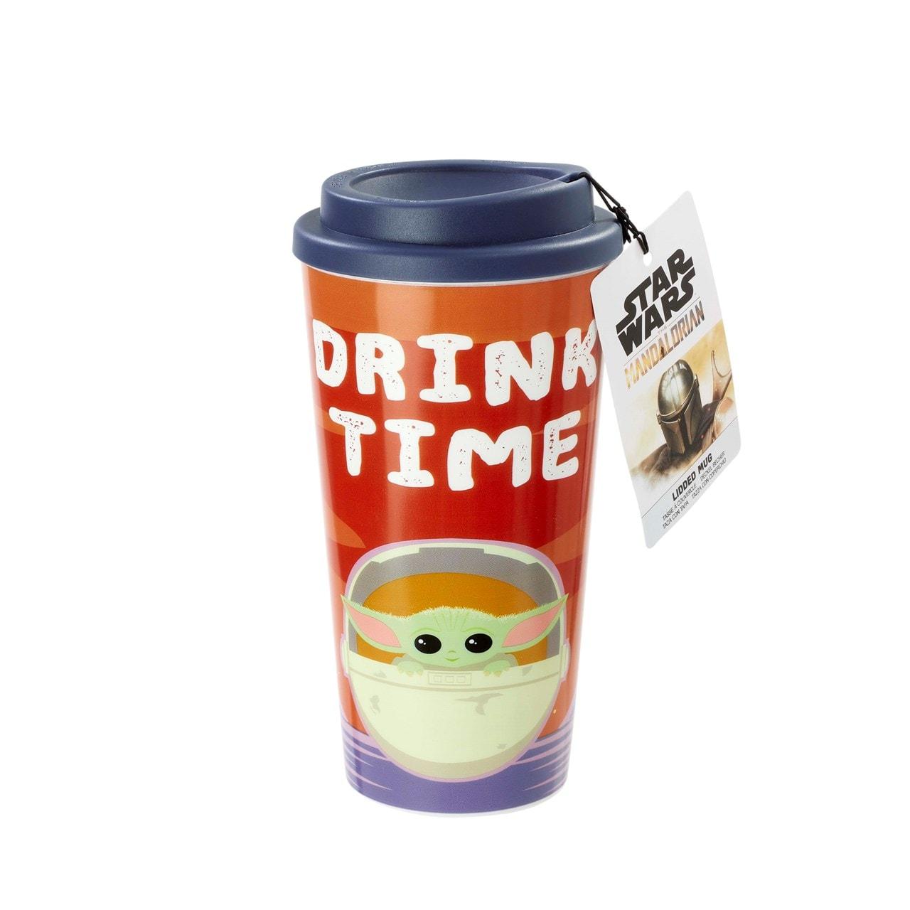 The Child: Drink Time: The Mandalorian Travel Mug - 2