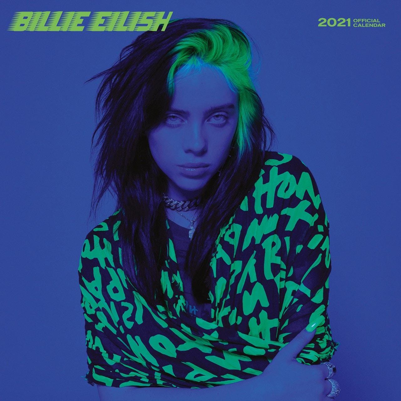 Billie Eilish: Square 2021 Calendar - 1