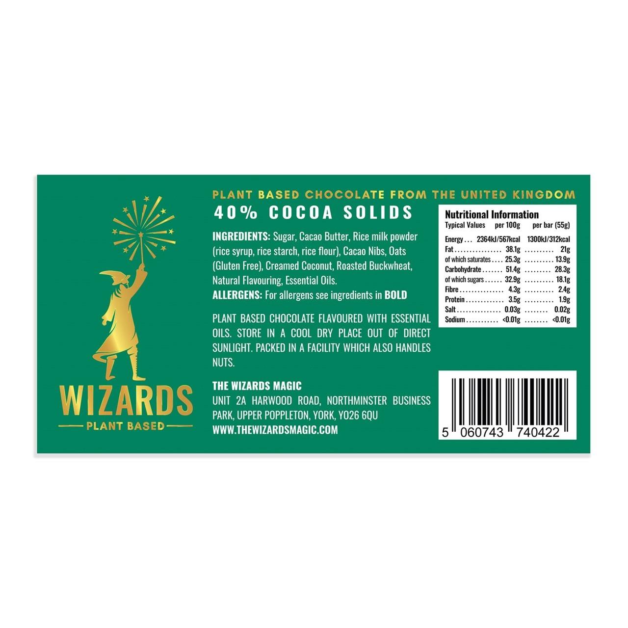 Wizards Magic Chocolate: Plant Based Gift Pack: Orange & Vanilla (Pack of 4) - 2