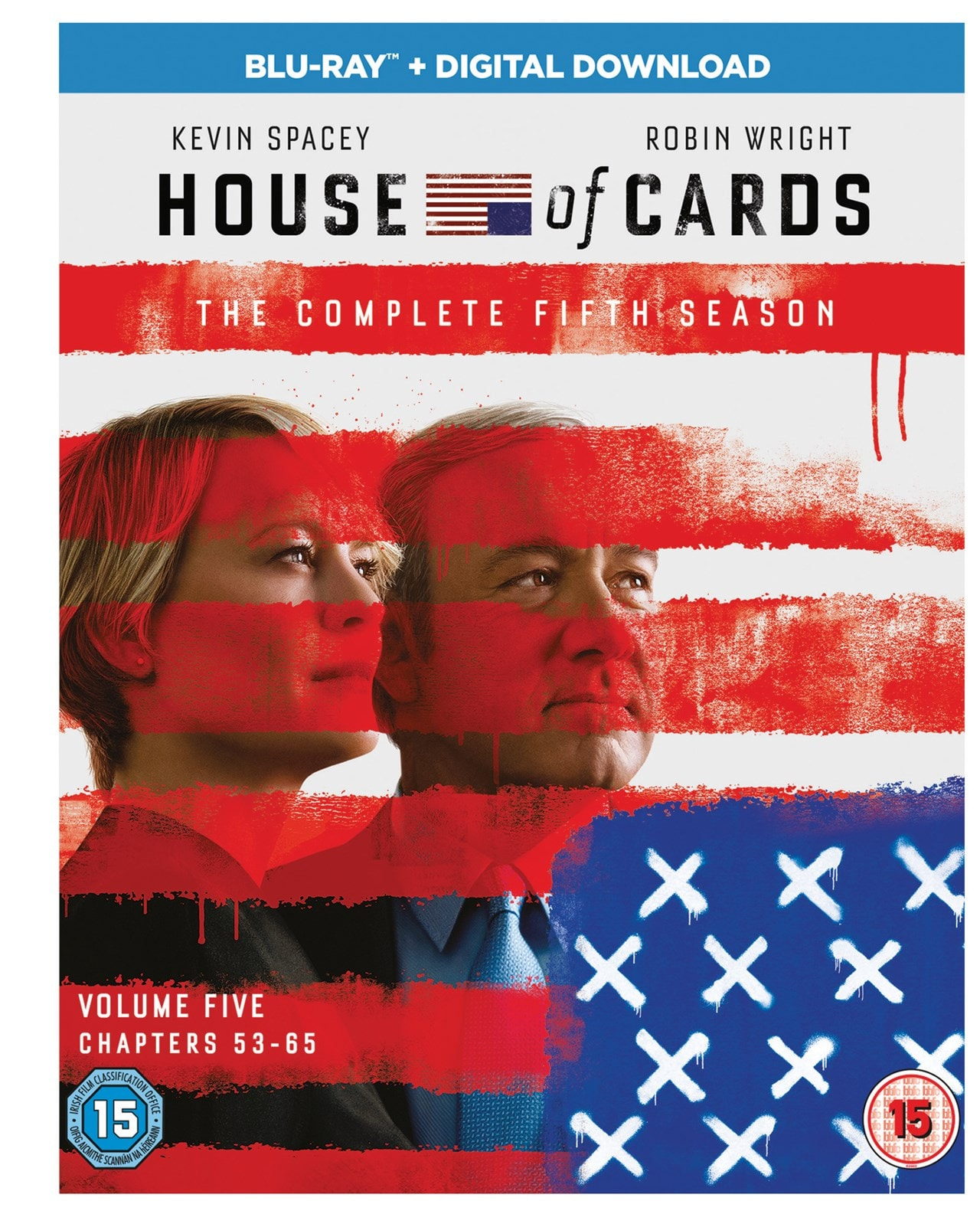 House Of Cards The Complete Fifth Season Blu Ray Box Set Free Shipping Over 20 Hmv Store