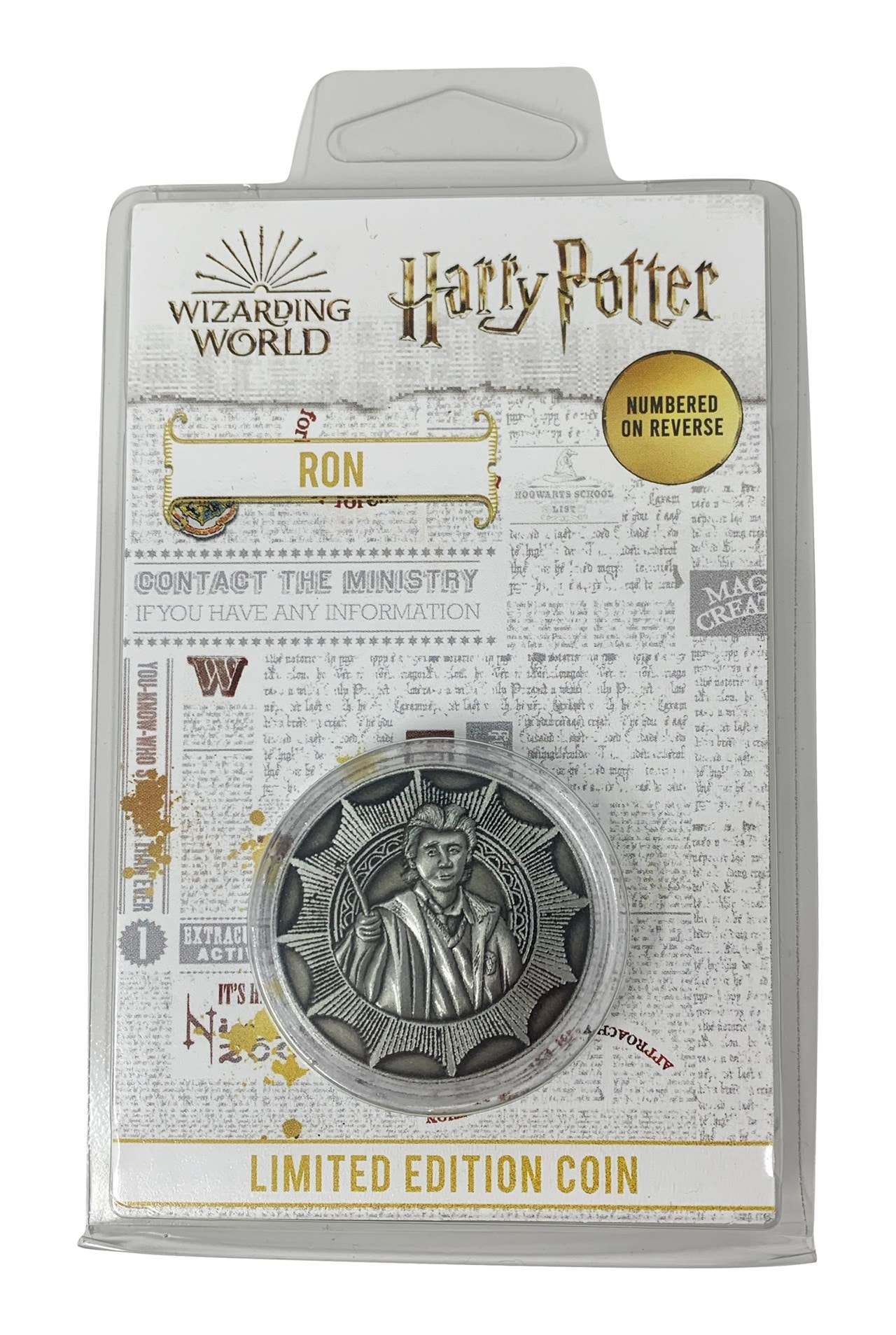 Ron: Harry Potter Coin - 3