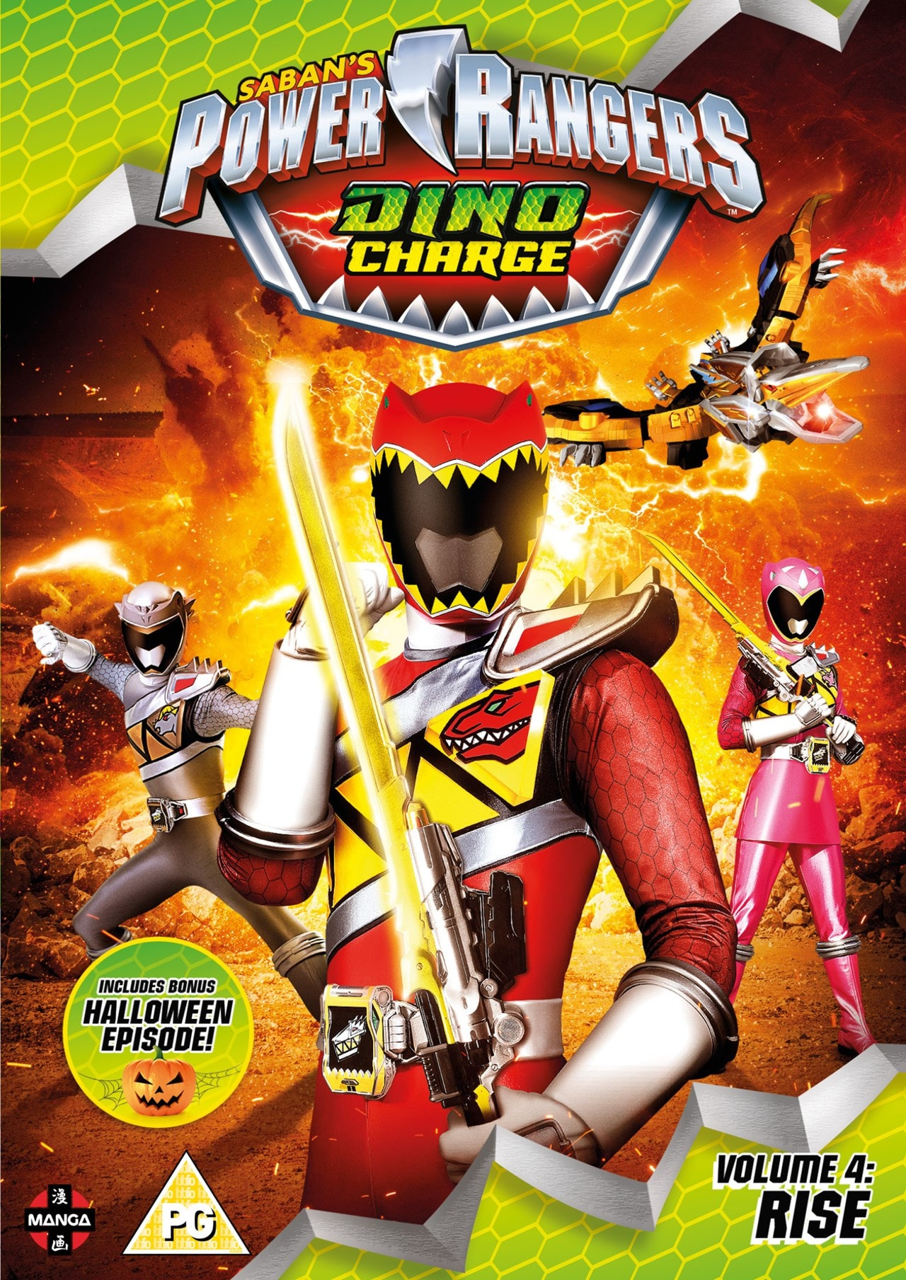 Power Rangers Dino Charge: Volume 4 - Rise - 1