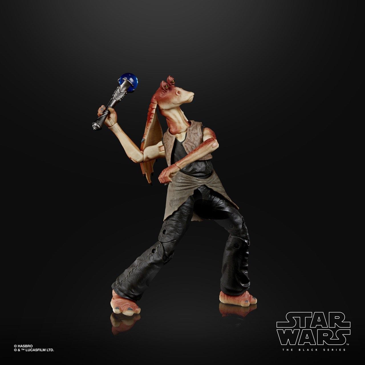 Jar Jar Binks: Deluxe: The Black Series: Star Wars Action Figure - 2