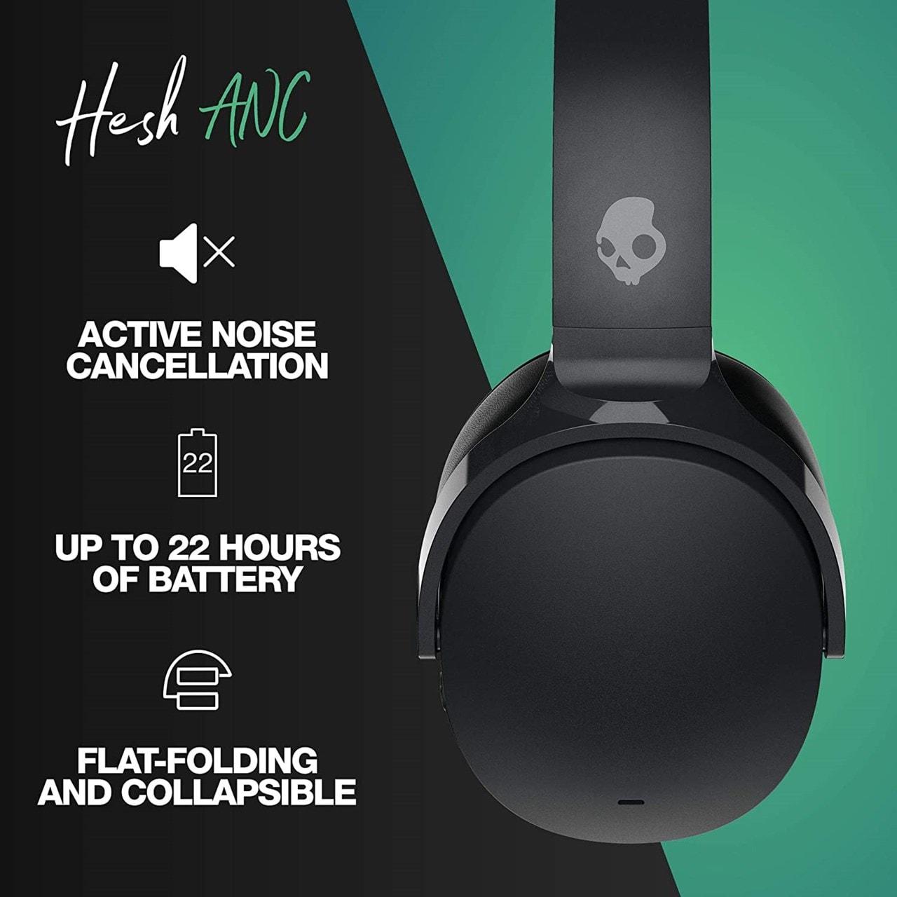 Skullcandy Hesh ANC True Black Bluetooth Headphones - 4