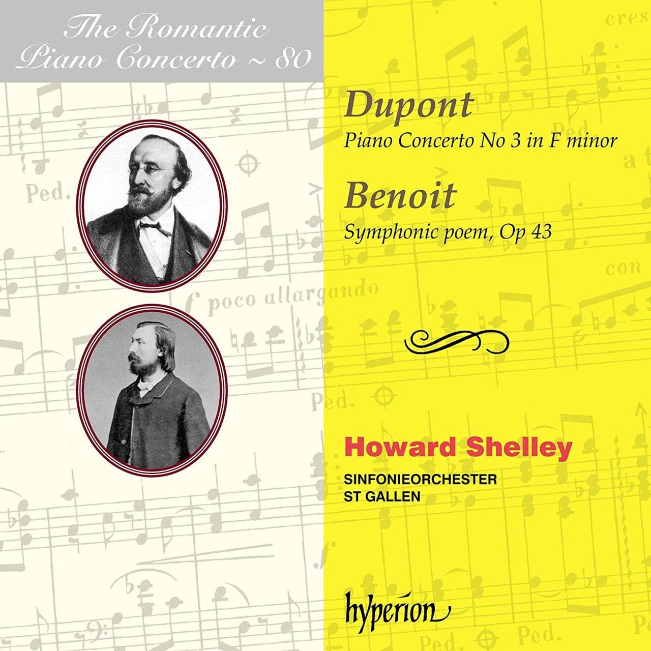 Dupont: Piano Concerto No. 3 in F Minor/Benoit: Symphonic... - 1