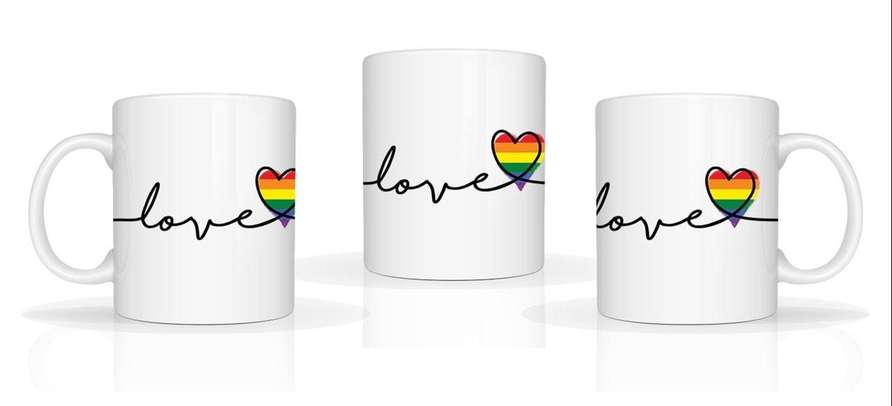 LGBT Pride: Heartline Mug - 1