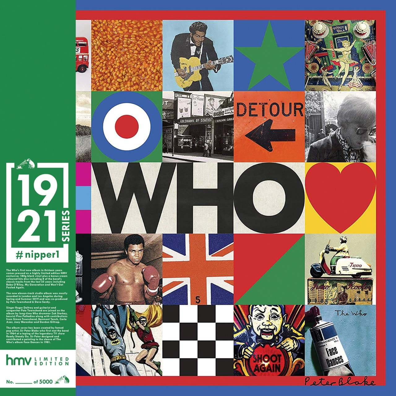 WHO (hmv Exclusive) 1921 Series 2LP - 1