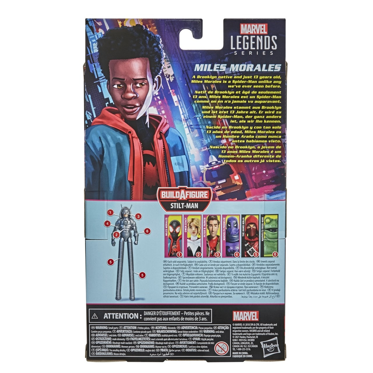 Miles Morales: Spider-Man: Into The Spider-Verse Marvel Action Figure - 3