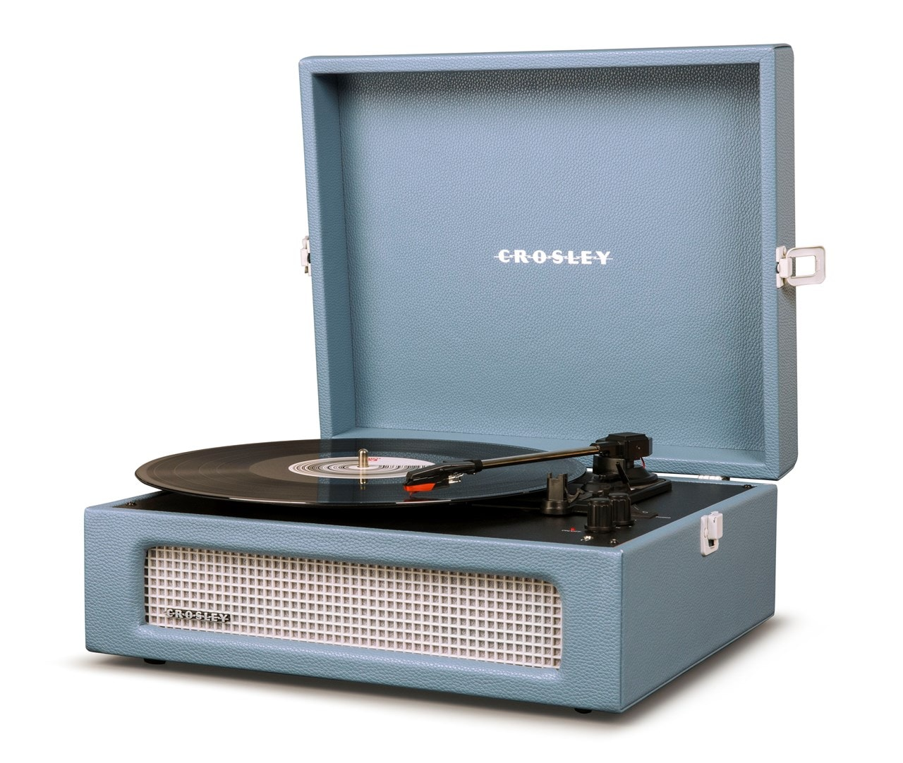 Crosley Voyager Washed Blue Turntable - 2